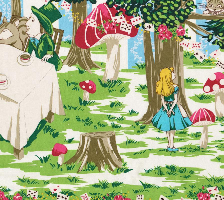 Alice In Wonderland Blue Stripe Harajuku Dolls Tea Party