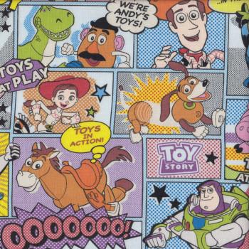 Toy Story Cartoon Buzz Lightyear Sheriff Woody Fabric