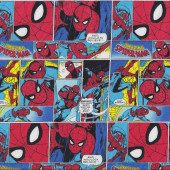 Spiderman Marvel Quilting Fabric