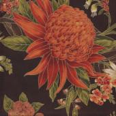 Australian Sun Waratah Flowers Quilting Fabric