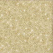Australian Sun Eucalyptus Metallic Gold Gumnut Flowers Quilting Fabric