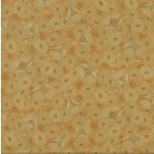 Australian Sun Eucalyptus Gumnut Flowers Gold Quilting Fabric