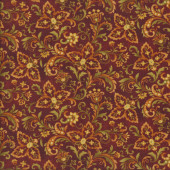 Pumpkin Autumn Album Quilting Fabric