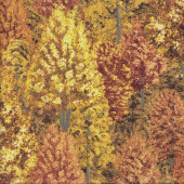 Autumn Trees Quilting Fabric