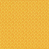 Baby Talk Love Hearts on Yellow Quilting Fabric