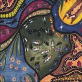 Australian Indigenous Aboriginal Bambillah by Nambooka Quilting Fabric