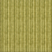Green Bamboo Garden Quilting Fabric