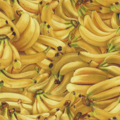 Bananas Fruit Farmers Market Quilt Fabric