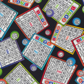 Bingo Quilting Fabric
