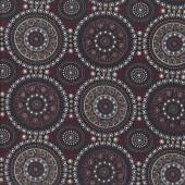 Australian Indigenous Aboriginal Bush Berry Red by Marlene Doolan Quilting Fabric