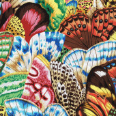 Colourful Butterfly Wings Quilting Fabric
