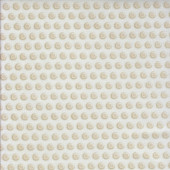 Clear Buttons on Cream Quilting Fabric