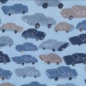 Cars Quilting Fabric Remnant 49cm x 112cm
