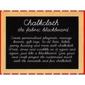 Chalkboard Chalkcloth Blackboard Black Fabric