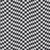 Checkered Flag Design Quilting Fabric Remnant 28cm x 112cm