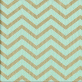 Chic Chevron Gold Quilting Fabric