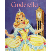 Cinderella Fairy Tale Vintage Look Quilt Fabric Panel
