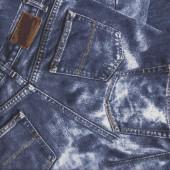 Blue Denim Jeans Design Fabric