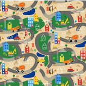 Detour Ahead Quilting Fabric