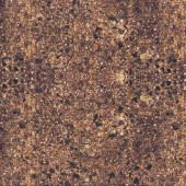 Brown Dirt Pebbles Gravel Landscape Quilting Fabric