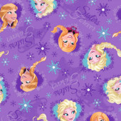 Disney Frozen Sisters Forever Anna Elsa Licensed Girls Kids Quilt Fabric