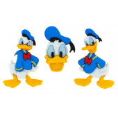 Donald Duck Disney Licensed Shank Buttons