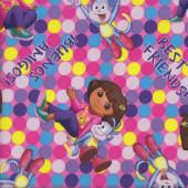 Dora Best Friends Quilting Fabric