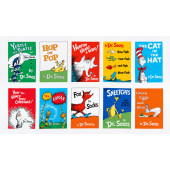 Dr Seuss Celebrate Horton Cat in The Hat Kids Quilting Fabric Book Panel