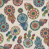 Colourful Dreamcatchers Quilting Fabric