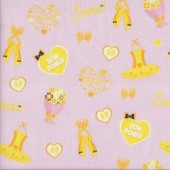 The Wiggles Emma Bow Power Ballet on Pink Girls Licensed Quilting Fabric