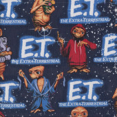 ET Navy Quilting Fabric