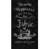 Buy Fabric Happiness Sewing Machine Quilting Fabric Panel