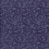 Fairy Frost Metallic Silver on Blackberry Purple Quilting Fabric