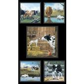 Farm Life Fabric Panel