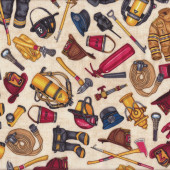 Fire fighting Equipment Quilting Fabric