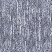 Frosty Trees Winter Landscape Nature quilting Fabric