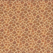 Giraffe Print Pattern on Light Beige African Animal Quilting Fabric