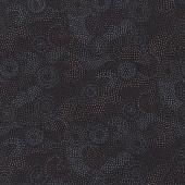 Australian Aboriginal Gooloo Grey Black Dots Quilting Fabric