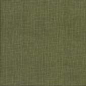 Olive Green Check Tried and True Quilting Fabric