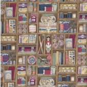 Haberdashery Shelf Thread Quilting Fabric
