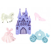 Happily Ever After Carriage Castle Unicorn Girls Shank Buttons