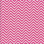 Hot Pink Chevron Quilting Fabric