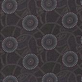 Australian Indigenous Aboriginal Kangaroo Path by Roseanne Morton Quilting Fabric