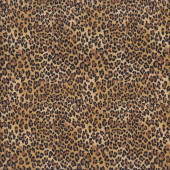 Leopard Spots African Animal Wildlife Safari Quilting Fabric