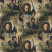 Lord of The Rings Digitally Printed Fabric
