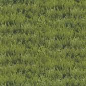 Lush Green Grass Nature Landscape Design Quilt Fabric