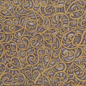 New Zealand Maori Te Koripi Wae O Maui NZ Quilting Fabric