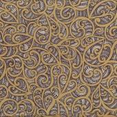 Maori Te Koripi Quilting Fabric Remnant 44cm x 112cm
