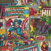 Marvel Avengers Quilting Fabric