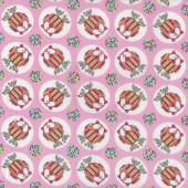 Owls Little Menagerie Pink Melly And Me Quilt Fabric